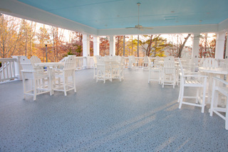 Heavy duty vinyl membranes are perfect for use on roof decks and balconies.